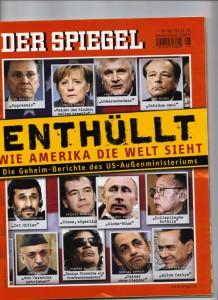 Geleaktes SPIEGEL-Titelblatt: Wie Amerika die Welt sieht