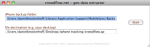 Das Crowdnet-Applet