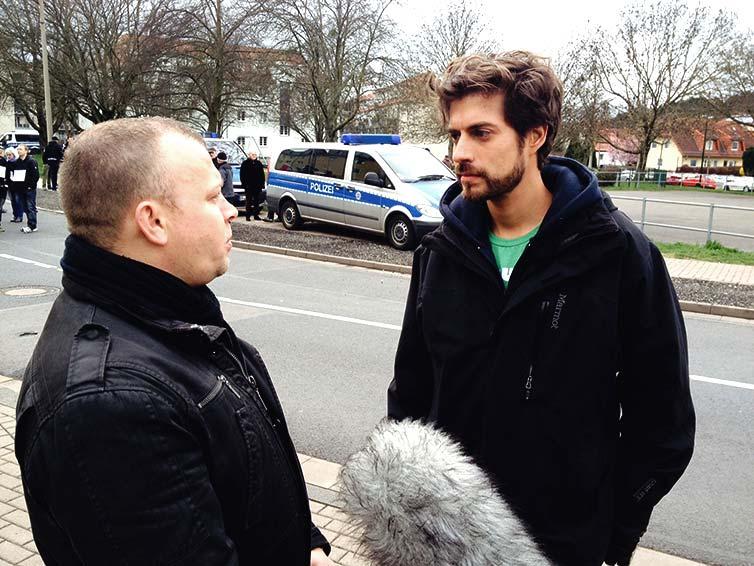 Im Interview mit dem Vorsitzenden der NPD Thüringen, Patrick Wieschke für Klub Konkret