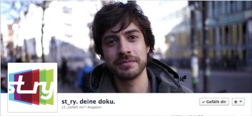 Gibt es auch auf Facebook: st_ry.tv: http://www.facebook.com/strytv