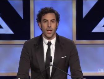 Sacha Baron Cohen schockt Hollywood – again!