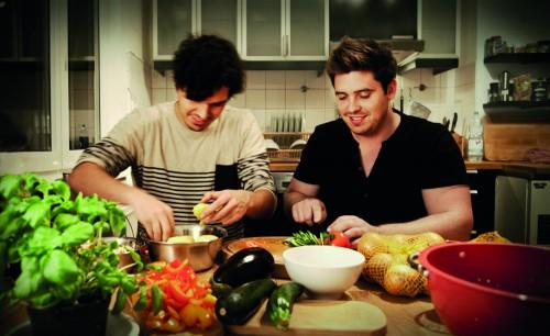 Verrückte Idee: Kochabend statt Kochbuch.