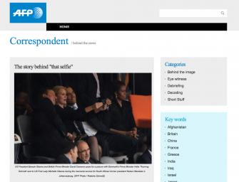 Die Geschichte hinter dem Obama-Begräbnis-Selfie