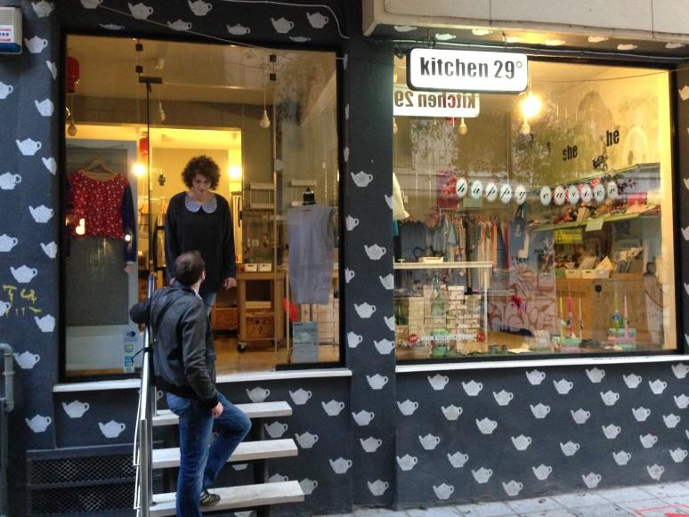 Könnte auch in Berlin stehen: kitchen 29 mit selbstgemachten Sachen.