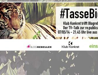 #tassebier meets Klub Konkret: Leben wir im Paradies oder sind wir nur nackt?