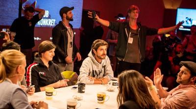 Live aus Berlin: Klub Konkret meets #tassebier. (Foto: rassoli.de, Copyright: vydy.tv)