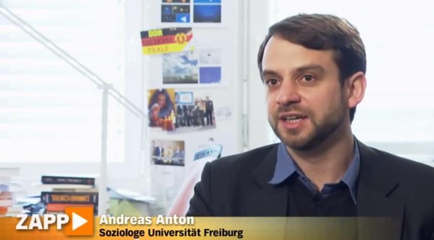 Andreas Anton forscht in Freiburg am Grenzgebiete der Psychologie und Psychohygiene (IGPP).
